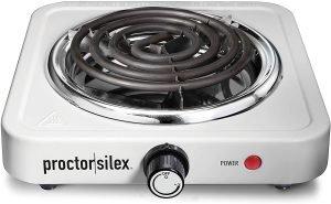 Proctor Silex Compact Single Burner Cooktop