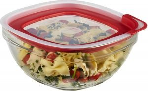 Rubbermaid Glass Food Storage Container