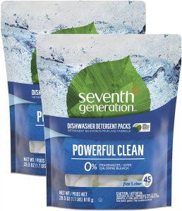 Seventh Generation Fragrance Free Dishwasher Detergent