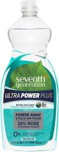 Seventh Generation Ultra Power Plus Dish Liquid Soap