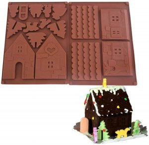 Silicone Mold Gingerbread House Kit