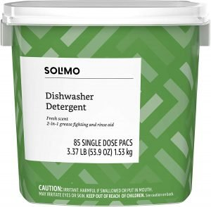 Solimo Dishwasher Detergent
