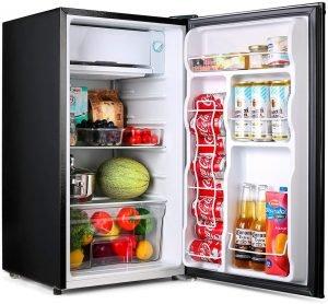 Tacklife Compact Refrigerator With Freezer
