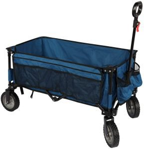 Timber Ridge Folding Grocery Cart