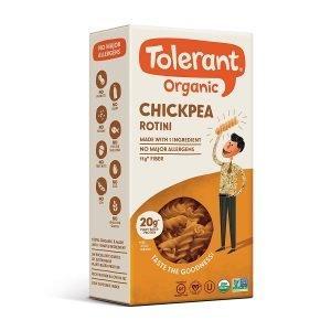 Tolerant Organic Gluten Free Chickpea Pasta
