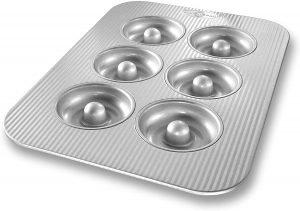 Usa Pan Bakeware Aluminized Steel Donut Pan