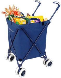 Versacart Folding Grocery Cart