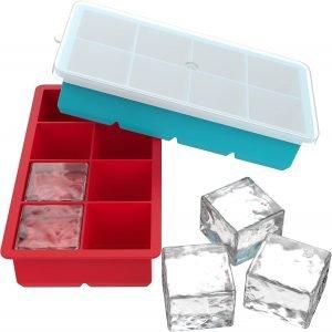 Vremi Silicone Ice Cube Trays