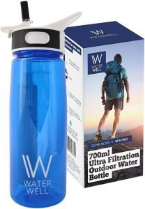 Water Well Travel Filter Water Bottle