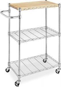 Whitmor Supreme Kitchen Cart