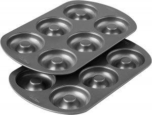 Wilton Non Stick 6 Cavity Donut Baking Pans