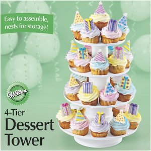 Wilton Stacked Cupcake And Dessert Tower