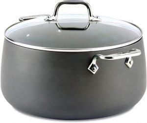 All Clad 1 E7855264 Ha1 Hard Anodized Nonstick Pot