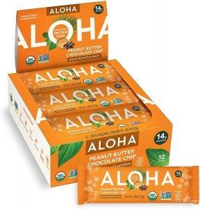 Aloha Organic Plant Based Bars