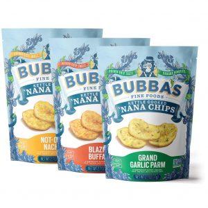 Bubba's Grain Free Saba Chips