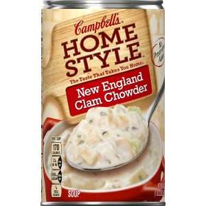Campbell's Homestyle Clam Chowder Soup
