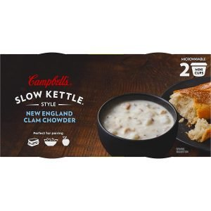 Campbell's Slow Kettle Clam Chowder Soup