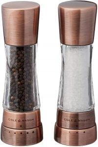 Cole And Mason Derwent Salt And Pepper Grinder Set