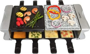 Cucinapro Dual Raclette Table Grill