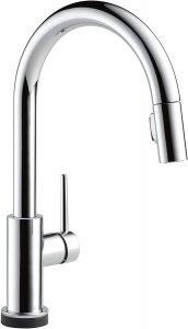 Delta Faucet's Single Handle Touch Kitchen Sink Faucet