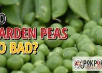 Does Garden Peas Go Bad?