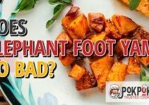 Does Elephant Foot Yam Go Bad