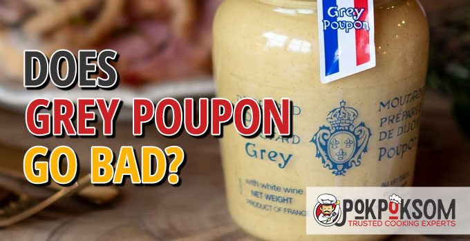 Does Grey Poupon Go Bad