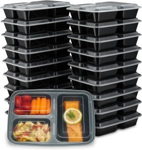 Ez Prepa Meal Prep Containers