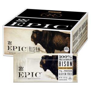 Epic Bison Cranberry Bars
