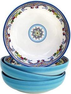 Euro Ceramica Zanzibar Collection Pasta Bowls