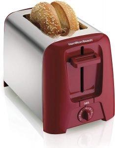 Hamilton Beach Red Toaster