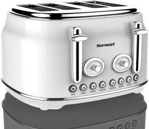 Homeart Artisan 4 Slot Toaster