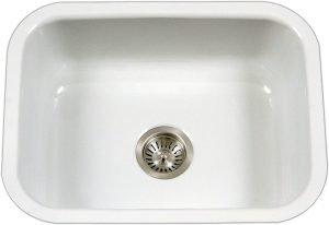 Houzer Enamel Kitchen Sink