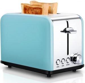 Keemo 2 Slice Retro Toaster