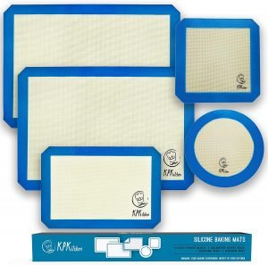 Kpk Kitchen Silicone Baking Mats Set