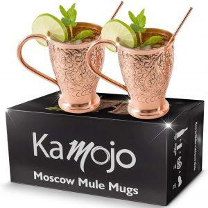 Kamojo Moscow Mule Copper Mugs