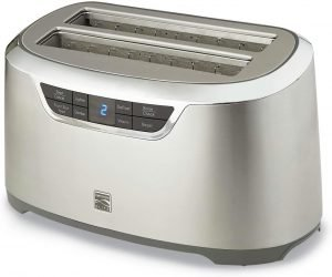 Kenmore Elite 76774 4 Slice Auto Lift Long Slot Toaster