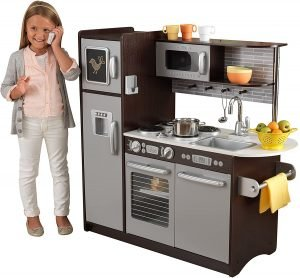 Kidkraft Uptown Espresso Wooden Play Kitchen