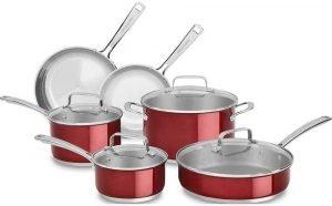 Kitchenaid Kc2ss10pc Cookware Set