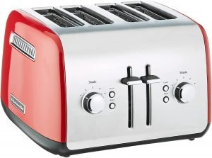 Kitchenaid Kmt4115er Red Toaster