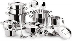 Lagostina Sfiziosa Stainless Steel Cookware Set