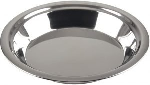 Lindy's Stainless Steel 9 Inch Pie Pan