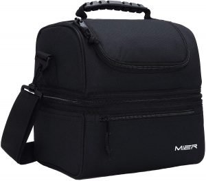 Meir Double Decker Insulated Lunch Box