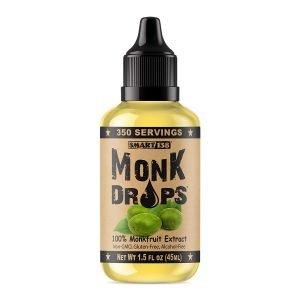 Monk Drops 100% Monk Fruit Liquid Sweetener
