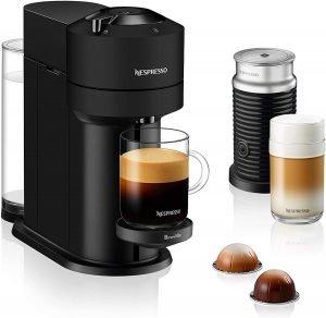Nespresso Vertuo Next Coffee And Espresso Machine With Aeroccino By Breville