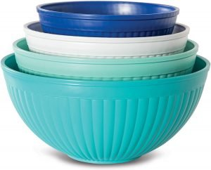 Nordic Ware Prep And Serving 4 Piece Mixing Bowl