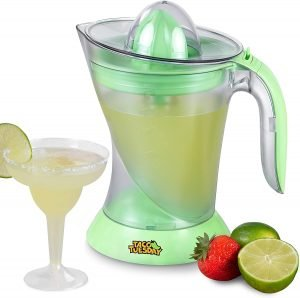 Nostalgia Taco Tuesday Electric Lime Juicer & Margarita Kit