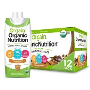Orgain Organic Meal Replacement Shakes