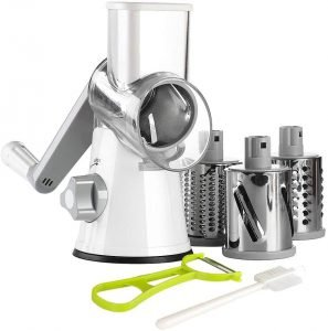 Ourokhome Rotary Cheese Grater Shredder