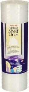 Plast O Mat Ribbed Shelf Liner